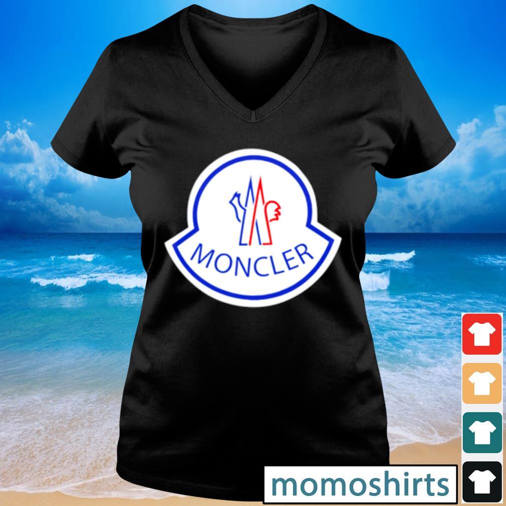 Moncler s V-neck t-shirt