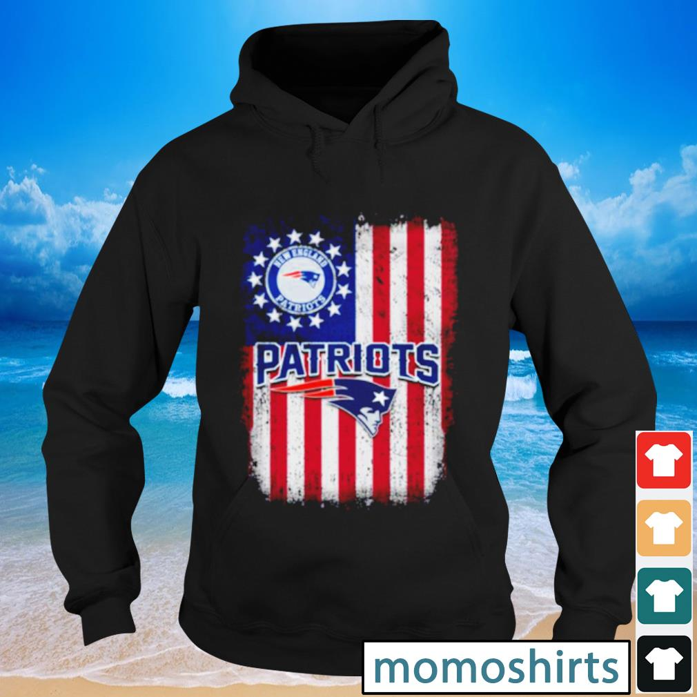 New England Patriots Betsy Ross flag s Hoodie