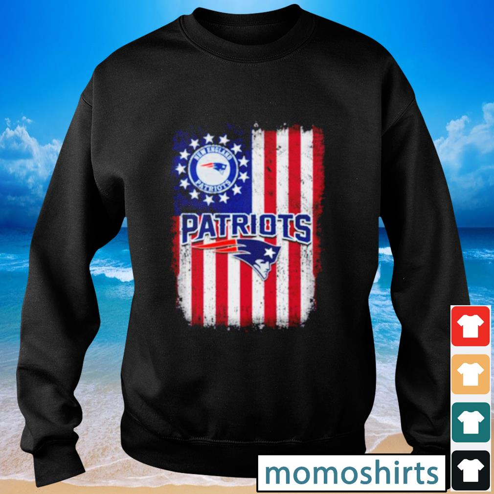 New England Patriots Betsy Ross flag s Sweater