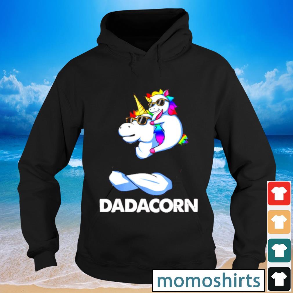 Nice Trend Dadacorn Unicorn Dad and Baby Sunglass s Hoodie