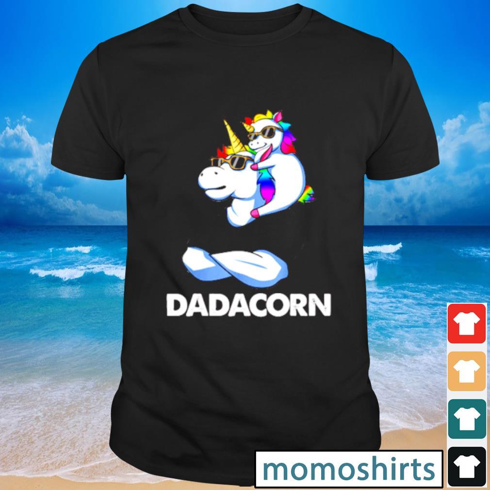 Nice Trend Dadacorn Unicorn Dad and Baby Sunglass shirt