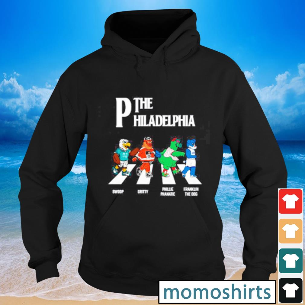 The Philadelphia Walking The Abbey Road Swoop Gritty Shirt Hoodie