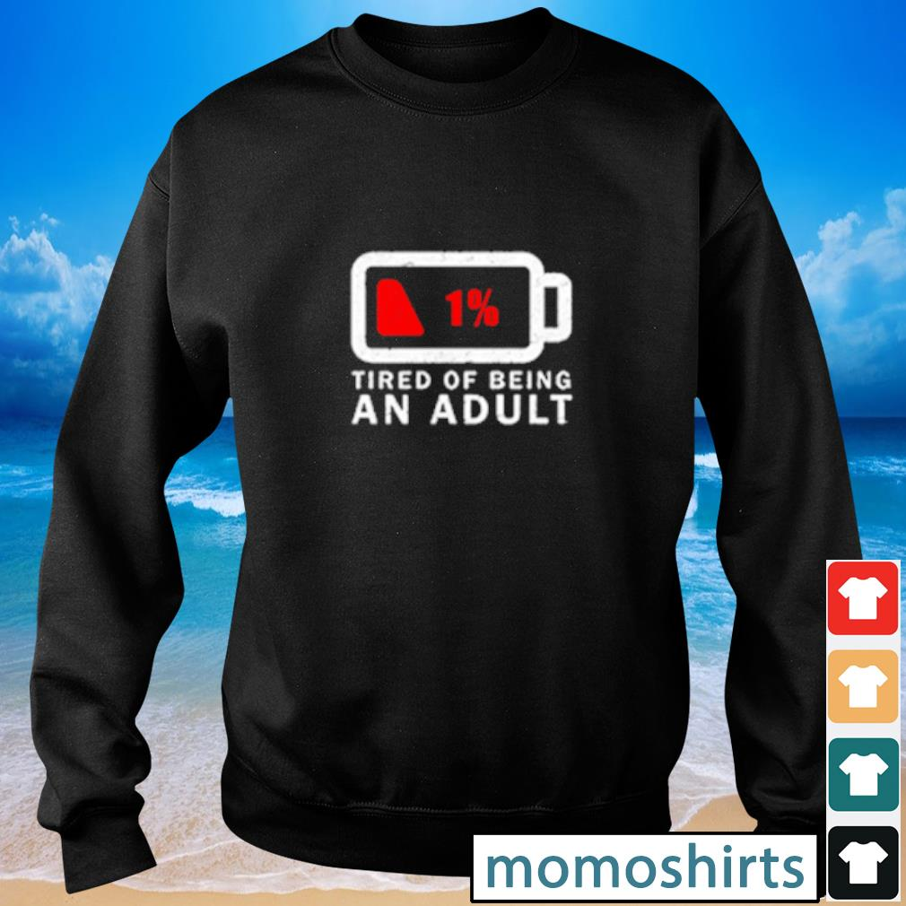 Tired of Being An Adult s Sweater