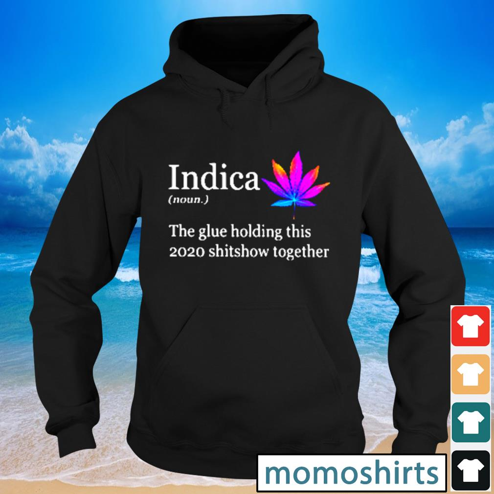 Indica the glue holding this 2020 shitshow together s Hoodie