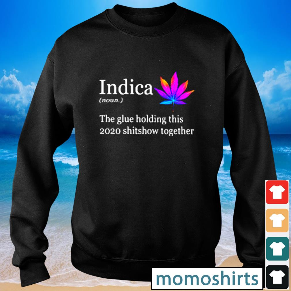 Indica the glue holding this 2020 shitshow together s Sweater