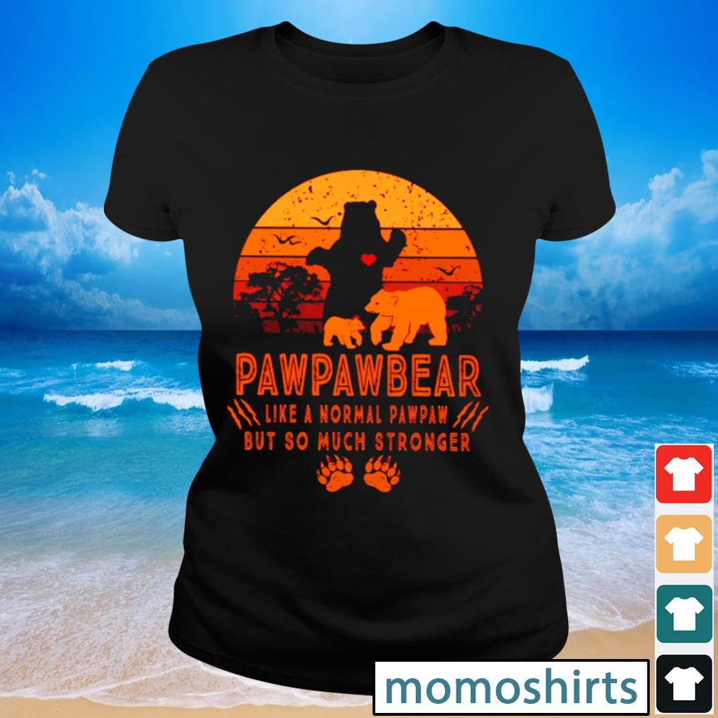 Pawpawbear like a normal pawpaw but so much stronger vintage s Ladies-tee
