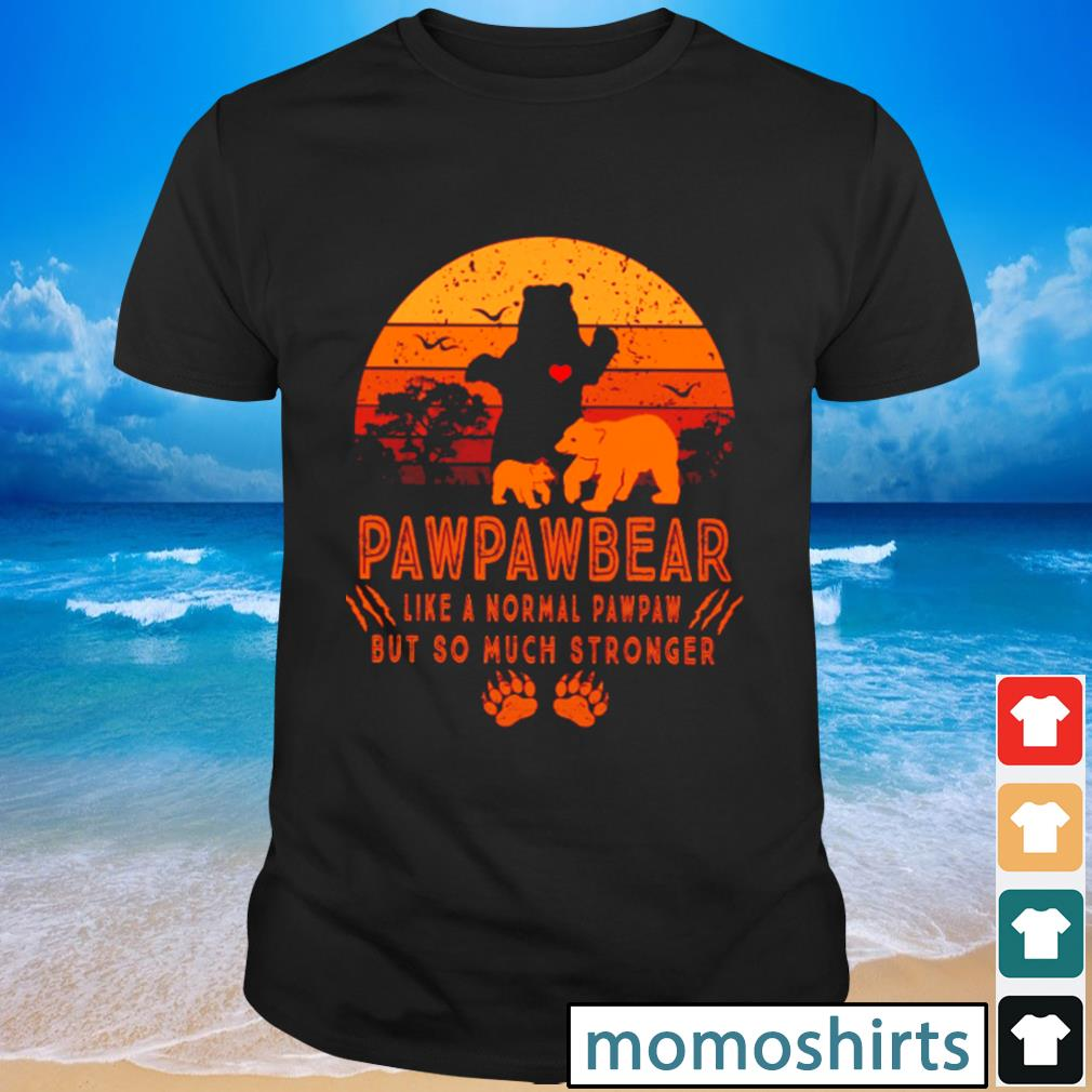 Pawpawbear like a normal pawpaw but so much stronger vintage shirt