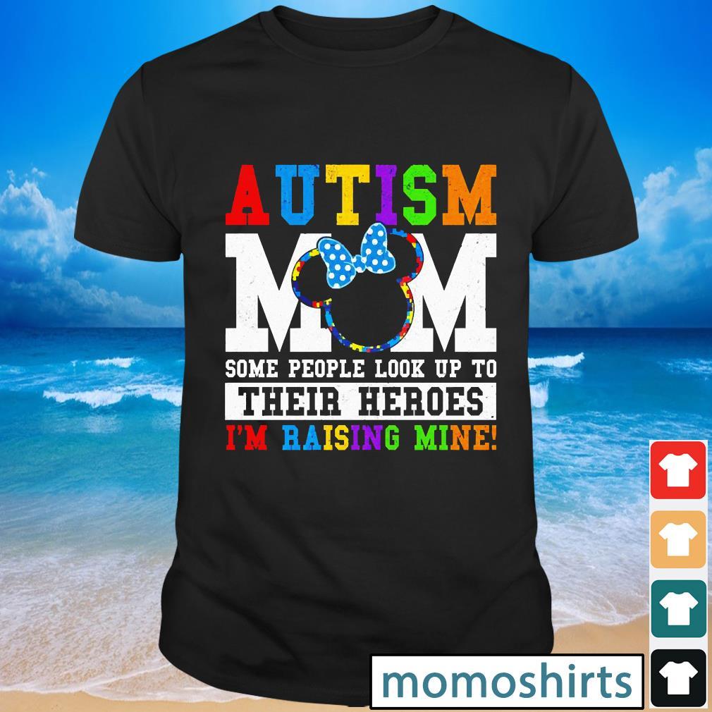 Minnie Mouse Autism Mom awareness shirt