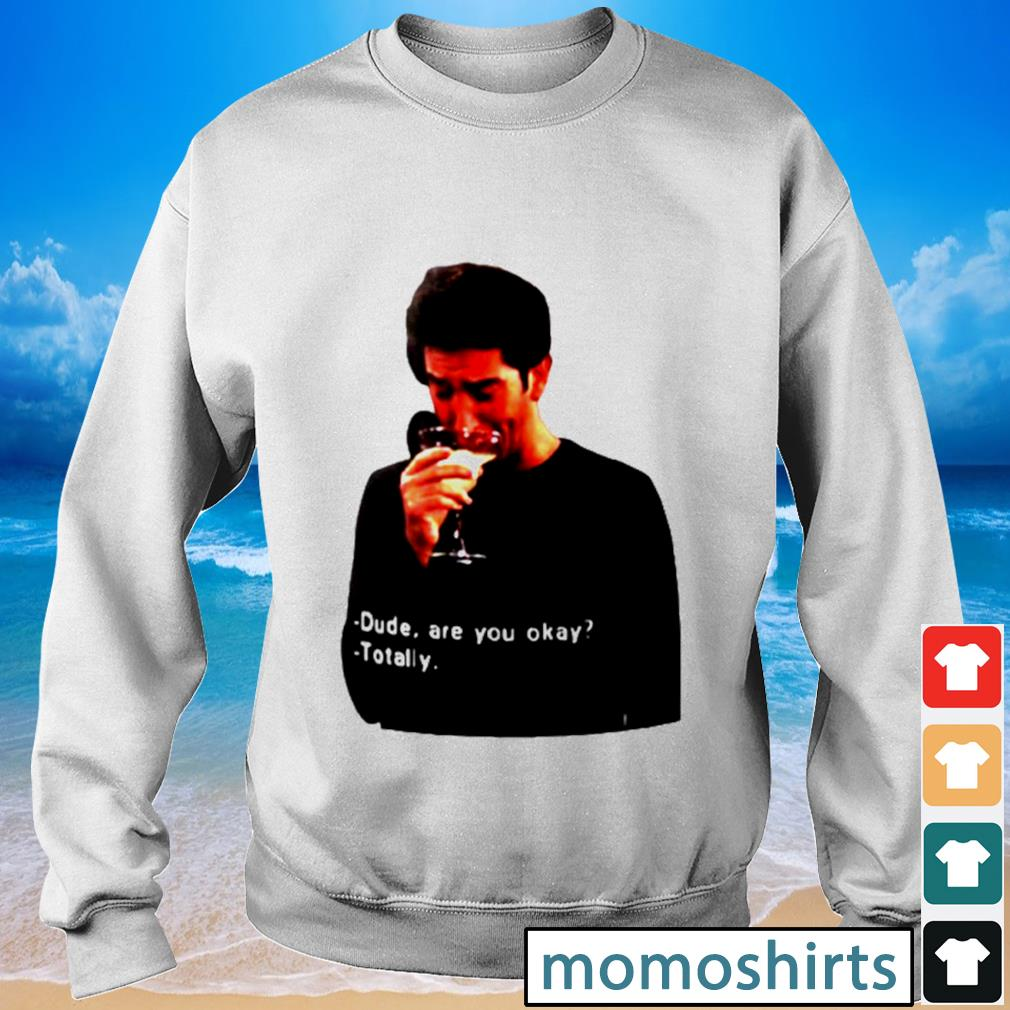 Ross Geller dude are you okay totally s Sweater