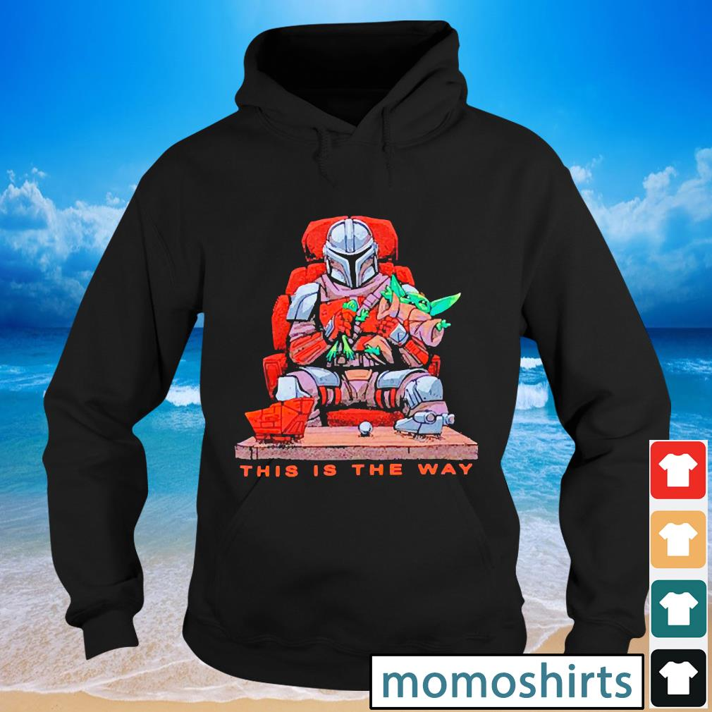 Star Wars the Mandalorian this is the way chair s Hoodie