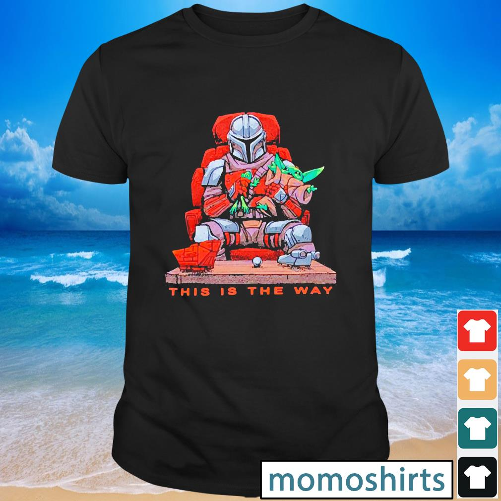 Star Wars the Mandalorian this is the way chair shirt