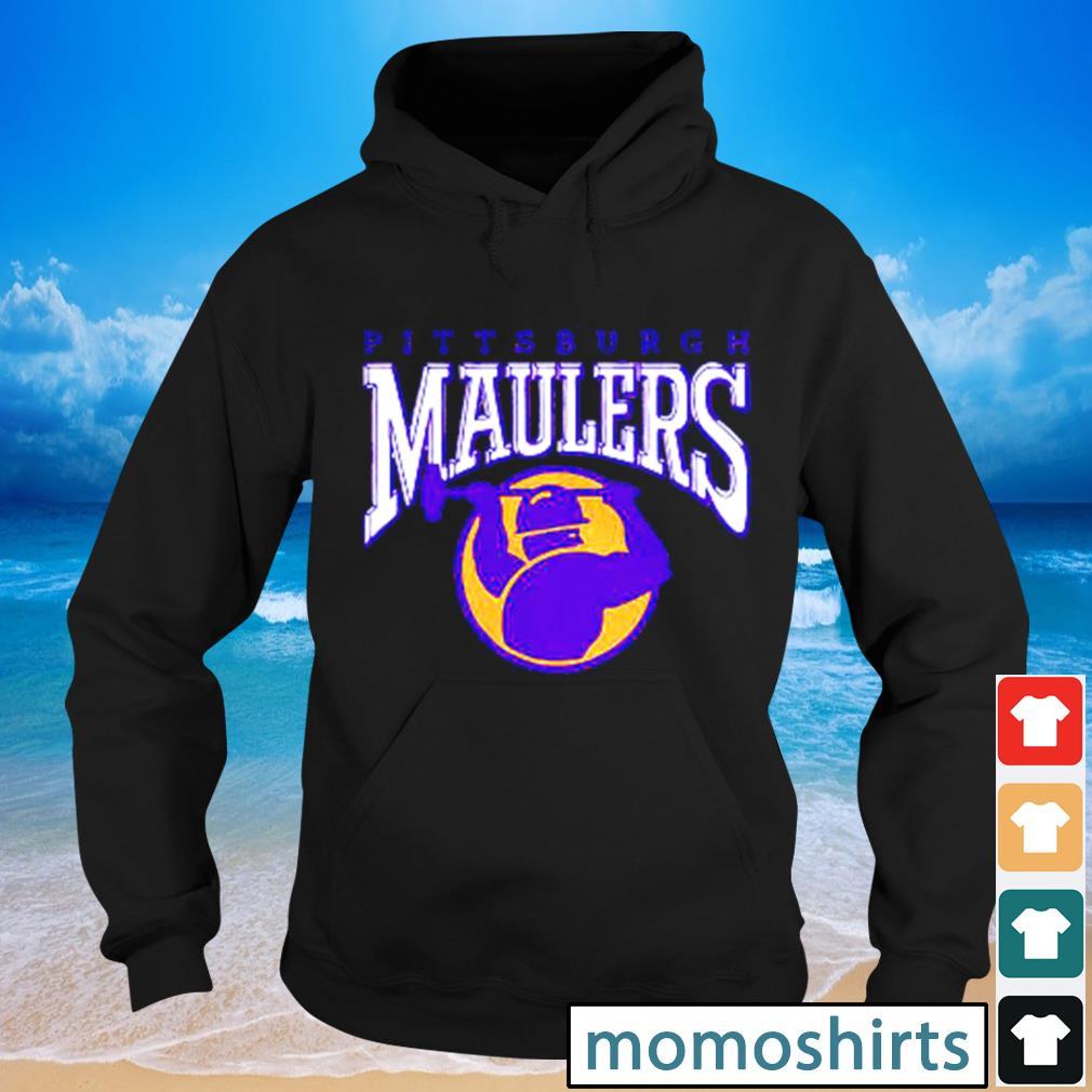 Pittsburgh Maulers football s Hoodie