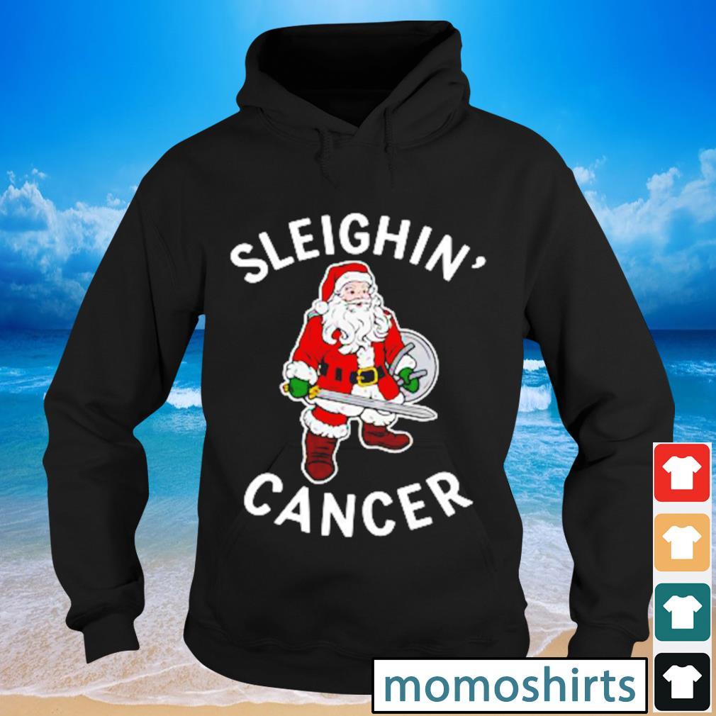 Santa Claus sleighin' cancer s Hoodie