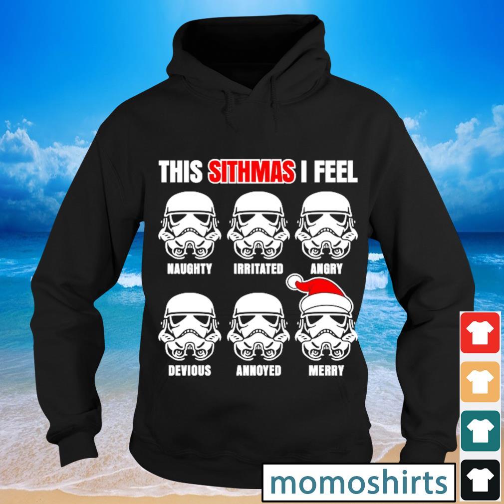 Star Wars Santa Stormtrooper this Sithmas I feel s Hoodie